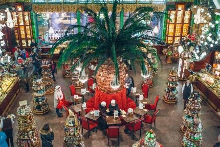 Gastronomicheskaya dostoprimechatel'nost' magazin Kuptsov Eliseevykh Coffeeshop